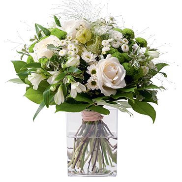 Bouquet de fleurs Confidence Félicitations