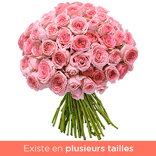 Brassée tendres roses