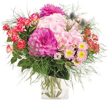 Bouquet de fleurs Fuchsia Remerciements