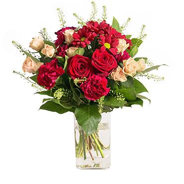 Bouquet de fleurs Salsa Anniversaire