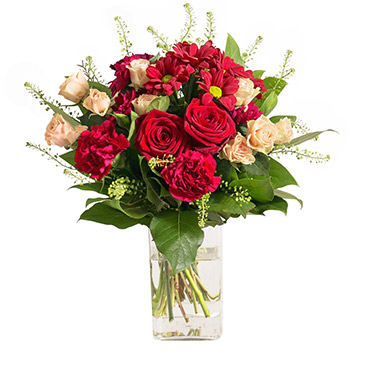 Bouquet de fleurs Salsa Remerciements