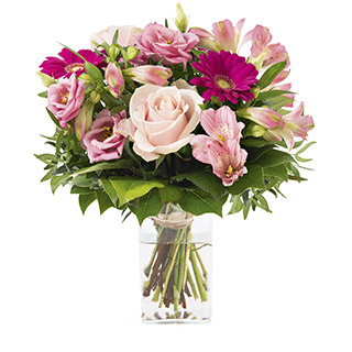 La vie en rose et son vase